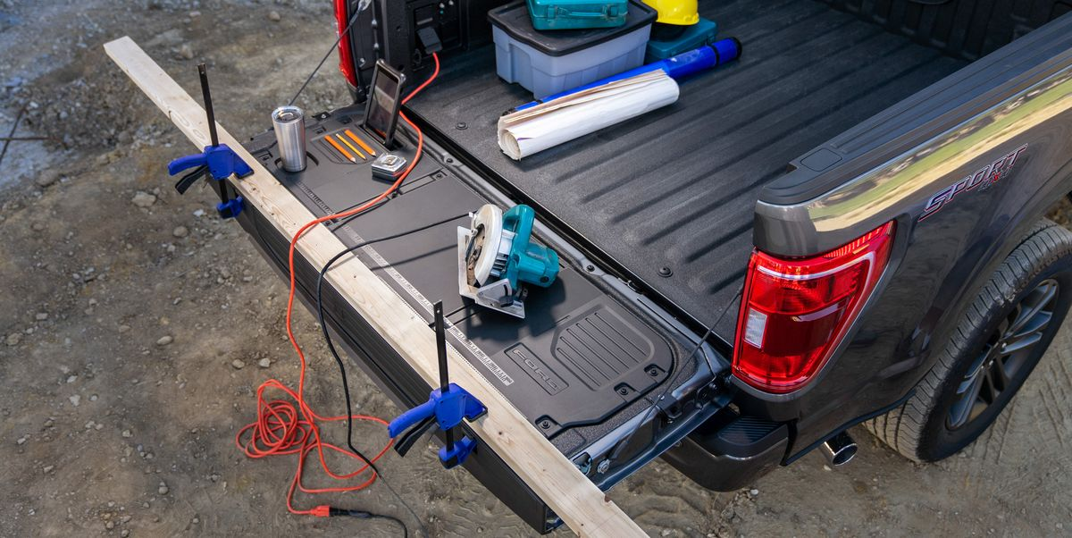 2021 Ford F-150's New Tailgate Is Construction Site Ready