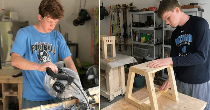 Young Woodworker Helps Homeless | Suzanne's Mom's Blog
