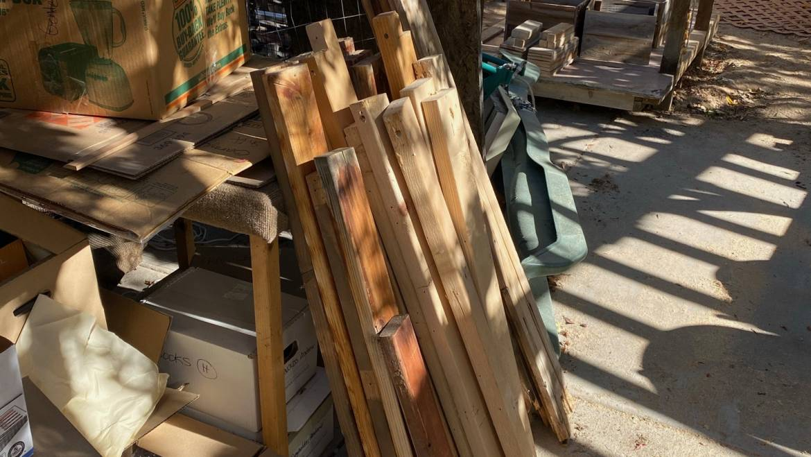 Wednesday Woodworking – From the Junk Pile