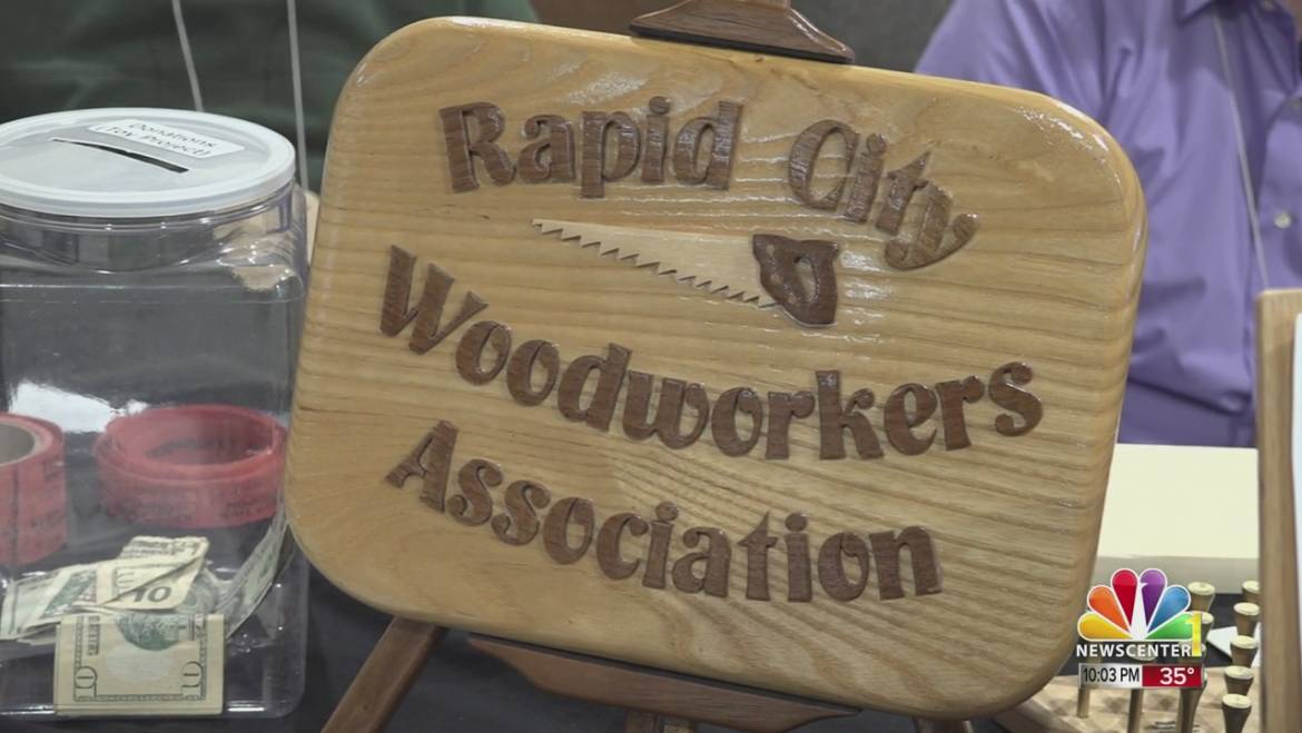 Rapid City Woodworkers Association show held at Knecht Home Center over the weekend